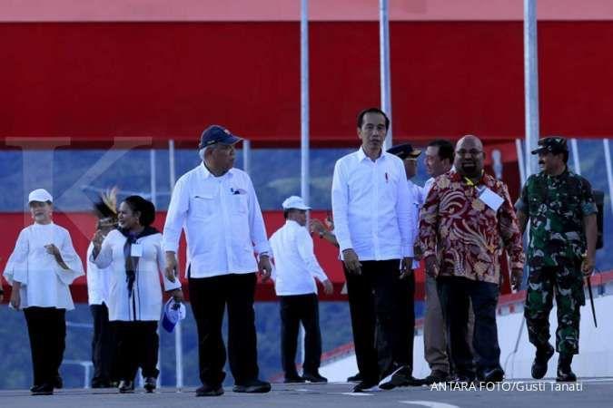 Presiden Jokowi resmikan Jembatan Youtefa di Papua