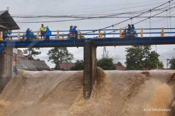 BPBD DKI keluarkan peringatan dini bahaya banjir, pos pantau Depok siaga 3