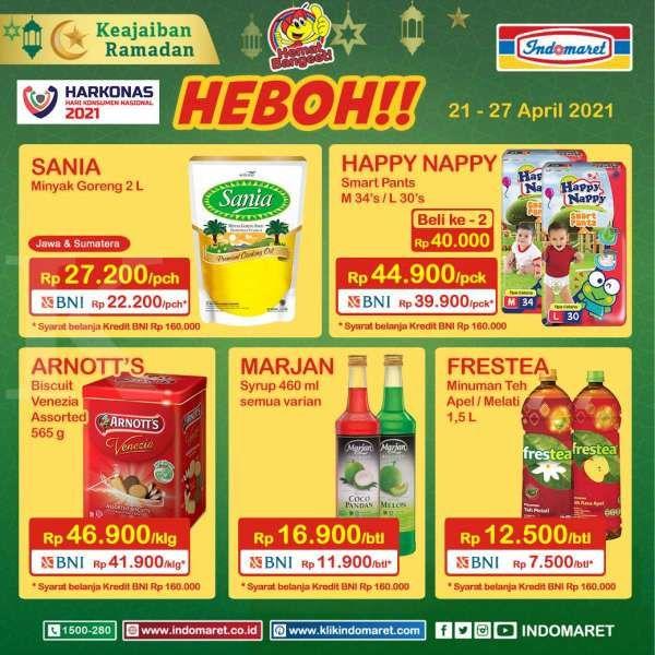 Promo Indomaret Harga Heboh 21-27 April 2021
