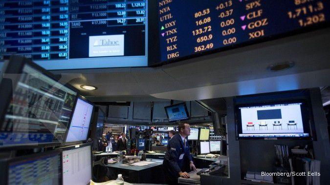Investor cemaskan Wal Mart, Wall Street memerah