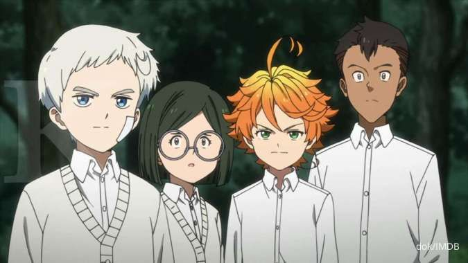 Anime The Promised Neverland season 2 tayang perdana awal tahun 2021