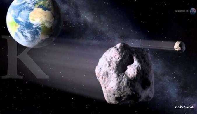 Dari 7 asteroid yang meluncur melewati Bumi pekan ini, ada satu berpotensi bahaya