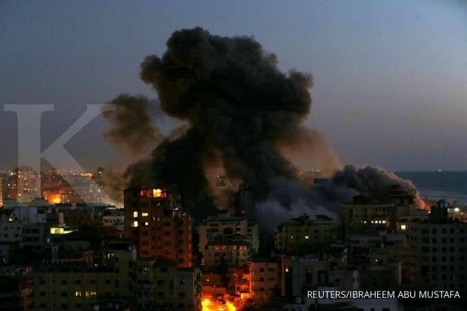 Konflik di Gaza kian panas, intensitas serangan roket dan serangan udara meningkat