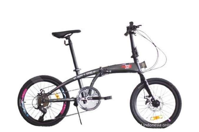 Murahnya gak main-main, ini harga sepeda lipat Police Milan 8SP edisi Rans 2.0