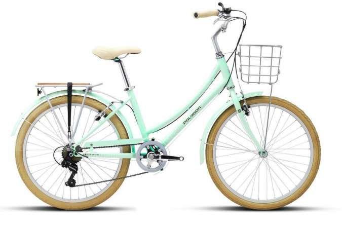 Penampilan cantik dan anggun, harga sepeda wanita Polygon ramah di kantong