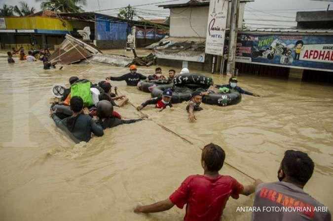 JQR respons bencana di empat wilayah sekaligus
