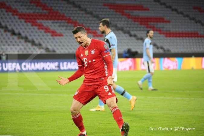 Hasil Liga Champions antara Bayern Munchen vs Lazio