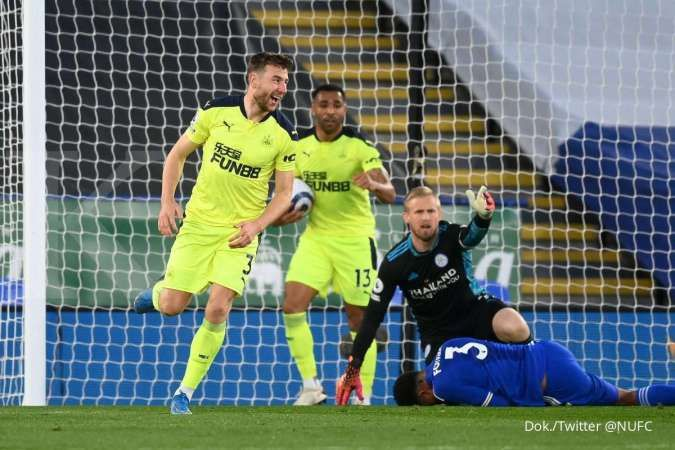 Leicester vs Newcastle United: Menang telak 2-4, The Magpies hajar The Foxes