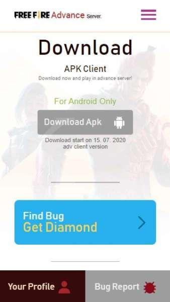 Mau Download Free Fire Advance Server Gampang Kok Begini Caranya
