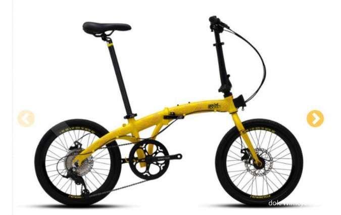 Desain kekinian, harga sepeda lipat Wimcycle Pocket Rocket dipatok terjangkau
