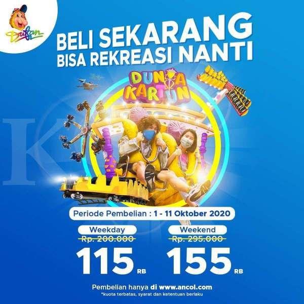 Promo tiket masuk Dufan 1-11 Oktober 2020