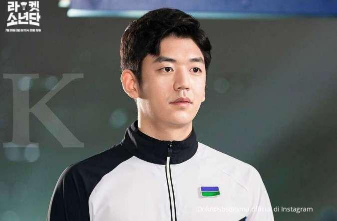 Drakor Racket Boys rilis foto adegan pemain bulu tangkis Lee Yong Dae sebagai cameo