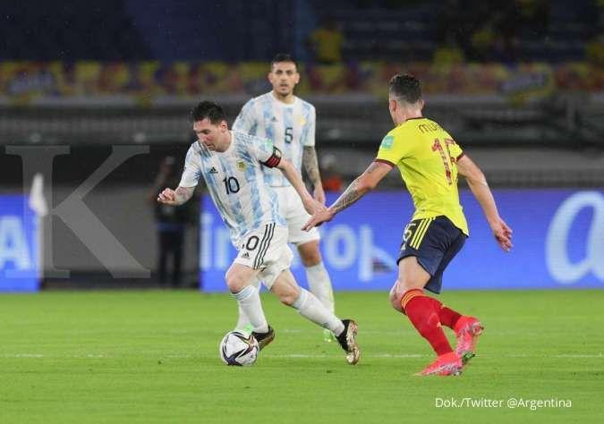 Kolombia vs Argentina: Imbang 2-2, La Albiceleste tertahan di kandang Los Cafeteros