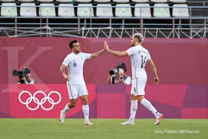 Jadwal sepak bola Olimpiade Tokyo 2020 ada Timnas Selandia Baru bermain