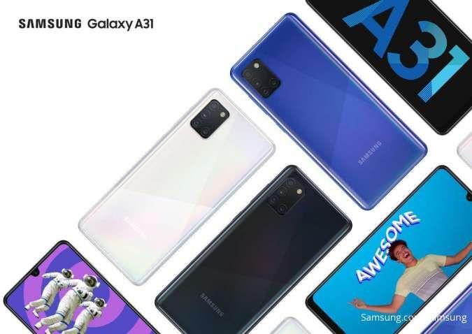 Harga HP Samsung Galaxy A dan M Series terbaru, Galaxy A70 diskon Rp 300.000