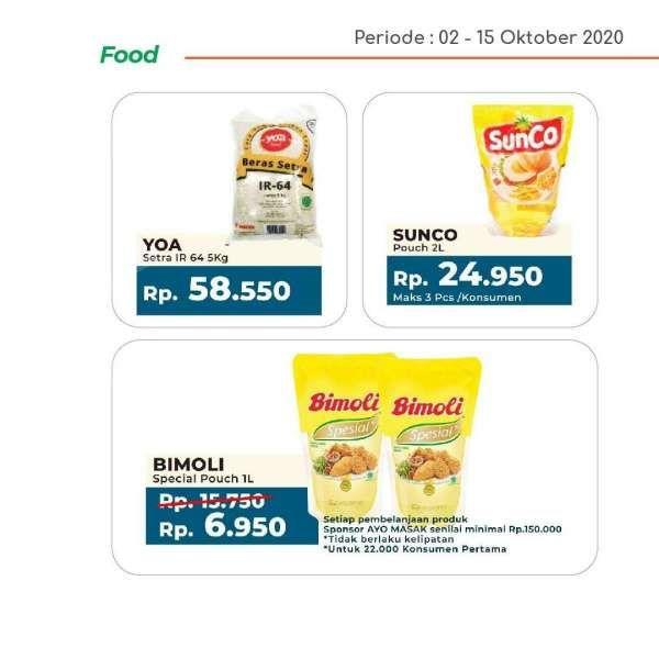 Promo Yogya Supermarket hari ini 12 Oktober 2020, harga hemat!