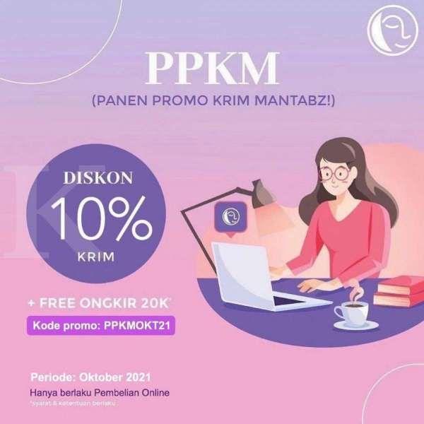 Promo PPKM di Klinik Natasha, Pembelian Krim Diskon 10% dan Free Ongkir Rp 20.000