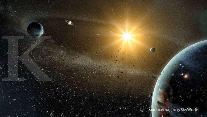 Mengenal sistem tata surya beserta planet yang ada di dalamnya