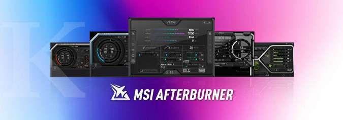 Jangan download aplikasi MSI Afterburner di situs ini! Ini situs resmi MSI yang asli