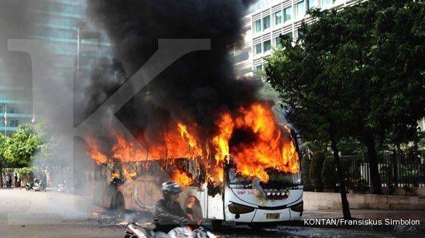 Polisi berupaya agar pembakar kendaraan di Jateng tertangkap tangan