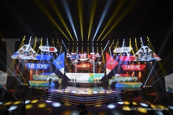 ILUSTRASI: Pertandingan e-sports