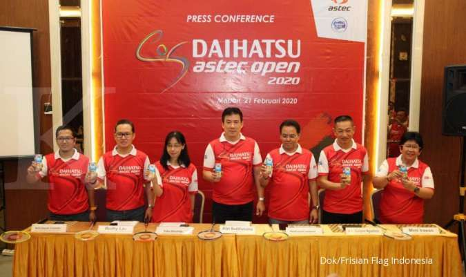 Frisian Flag Indonesia dukung Turnamen Daihatsu Astec Open 2020