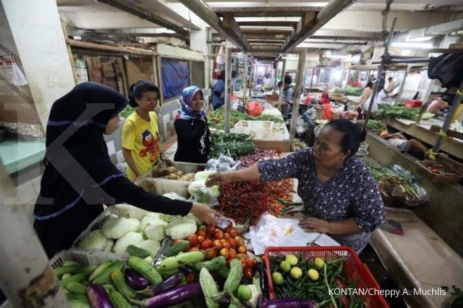 Ekonom Bank Permata proyeksi terjadi inflasi di bulan Maret sebesar 0,10%