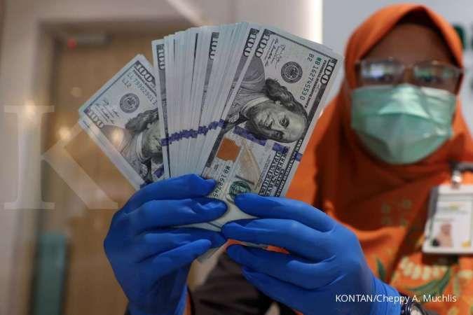 Kurs rupiah tertekan ke Rp 14.526 per dolar pada Senin (19/7) siang