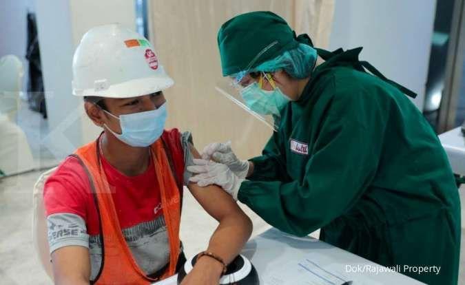 Rajawali Property Group gelar vaksinasi massal untuk karyawan dan pekerja
