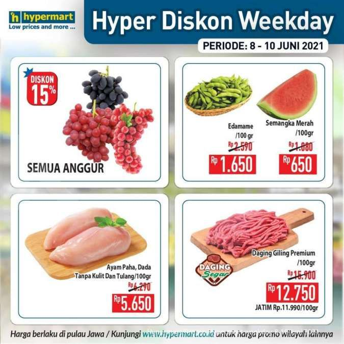 Promo Hypermart weekday 8-10 Juni 2021