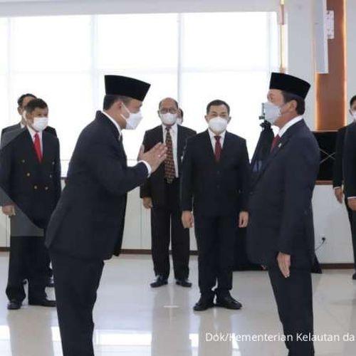 Menteri Trenggono Lantik Adin Nurawaluddin Sebagai Dirjen PSDKP