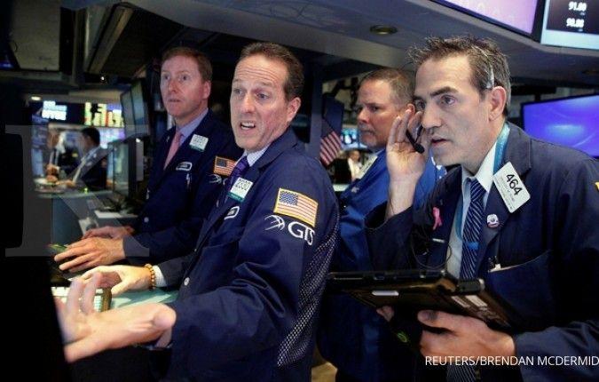 Bursa AS dibuka tergelincir di awal pekan