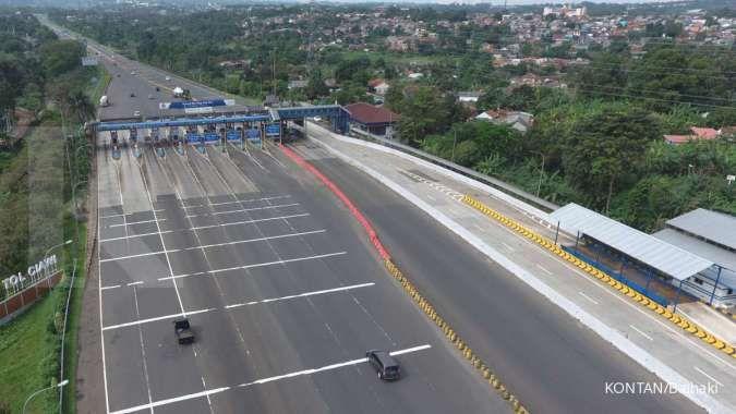 Ada buka tutup lajur di tol Jagorawi arah Jakarta, hati-hati macet