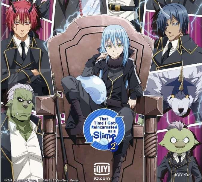 Jadwal anime episode baru yang sedang tayang di iQIYI (September 2021)