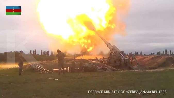 Makin panas, jet tempur F-16 Turki tembak jatuh Sukhoi Su-25 Armenia di Azerbaijan