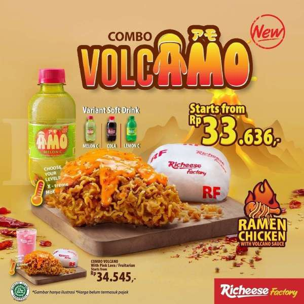 Promo GoFood Richeese Factory