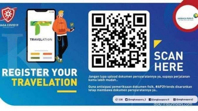 Ini cara pre order rapid test antigen di Bandara AP2 via Travelation