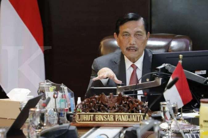 Luhut berjanji pensiun usai masa Presiden Jokowi berakhir di 2024, saat istri ultah