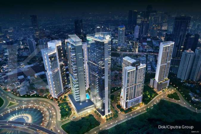Prospek masih cerah, Ciputra Development (CTRA) bersiap bangun empat mal baru