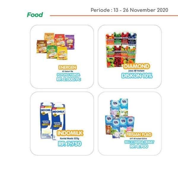 Promo Yogya Supermarket hari ini 26 November 2020 menawarkan produk-produk segar kebutuhan harian. Dok: Instagram Yogya Group