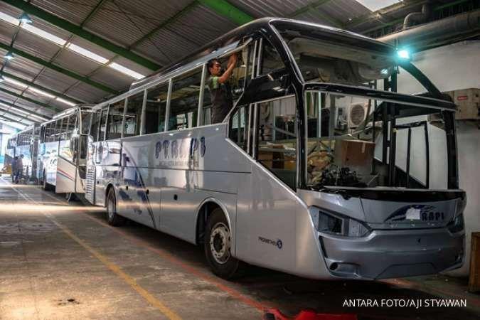 Utamakan keselamatan penumpang, Laksana Bus uji kekuatan kursi sesuai standar Eropa