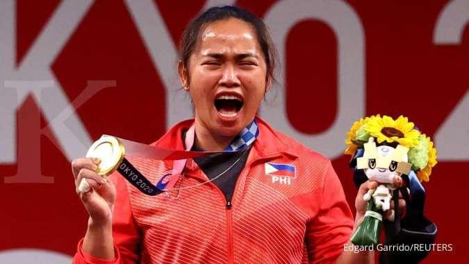 Angkat besi berhasil sumbang emas Olimpiade pertama Filipina dalam sejarah