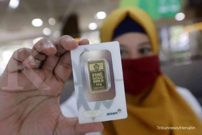 Harga emas 24 karat Antam hari ini Rp 1.055.000 per gram, Minggu 9 Agustus 2020