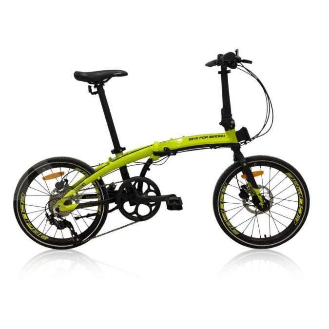 Harga sepeda lipat Element Ecosmo 10SP edisi Bike For Ibadah dibanderol murah