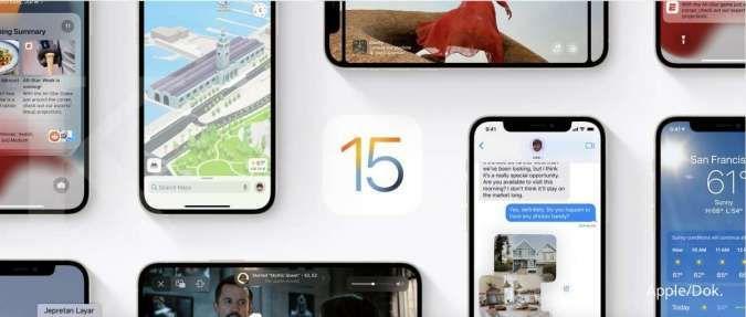 ILUSTRASI: iOS 15