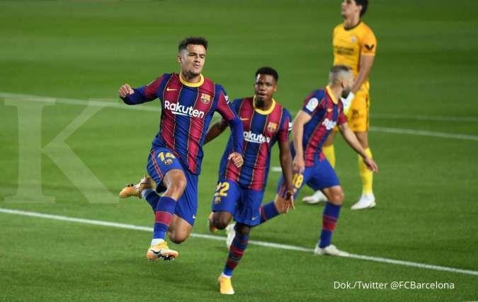 Demi lepas Philippe Coutinho, Barcelona siap tukar pemain bintang AC Milan