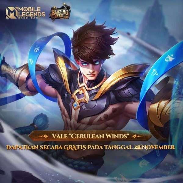 Skin Vale Cerulean Winds Mobile Legends