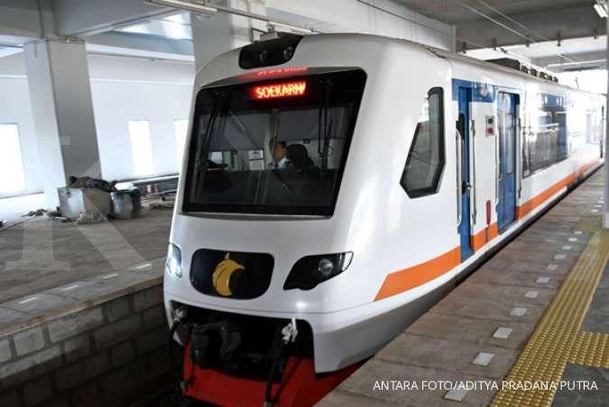 Pasca banjir, KA Bandara Soekarno-Hatta kembali beroperasi normal