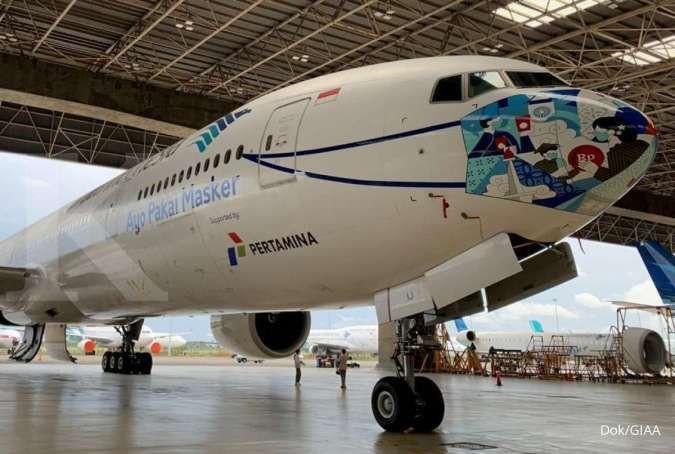 Garuda Indonesia (GIAA) luncurkan desain mask livery motif ...