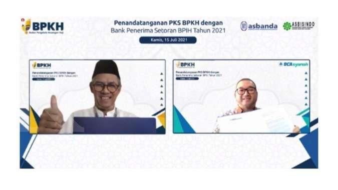 BPKH tunjuk BCA Syariah sebagai mitra penerima, penempatan dan investasi biaya haji